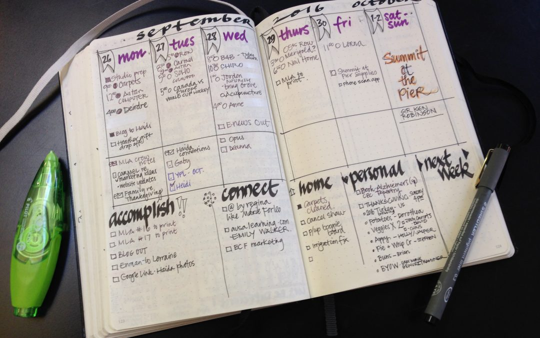 Bullet Journals = Productivity
