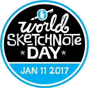 second - World Sketchnote Day bullet journal