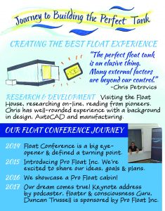 Pro Float Brochure float tank business journey