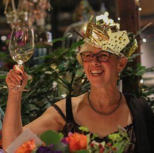 Deborah cheers - milestone birthday