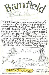 Bamfield adventures July 2012 travel journal