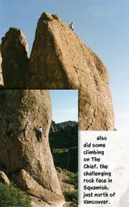 Rock Climbing sharing memories