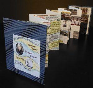 Brenda Taylor booklet visual storytelling