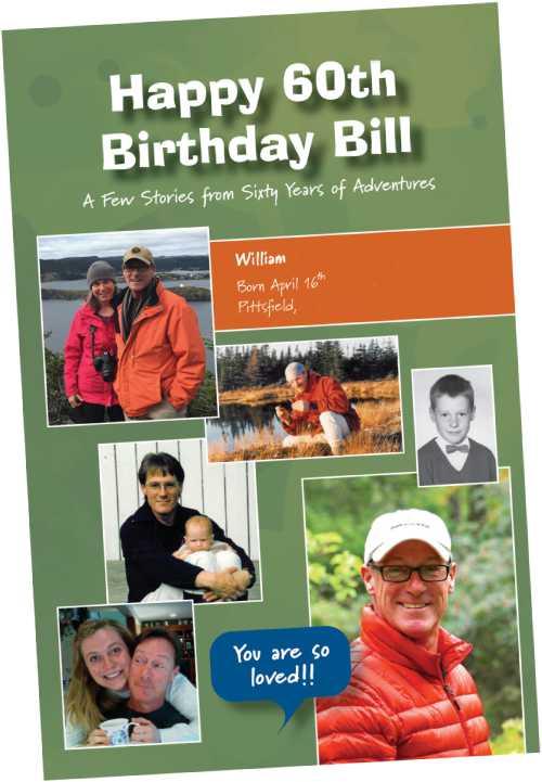 bill 60th birthday cover